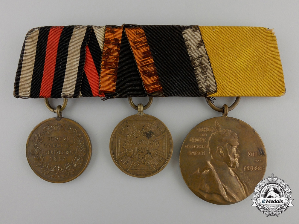 eMedals-A Franco-Prussian War Medal Bar