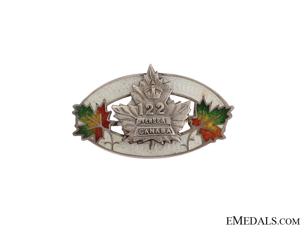eMedals-122nd Infantry Battalion Sweetheart Pin
