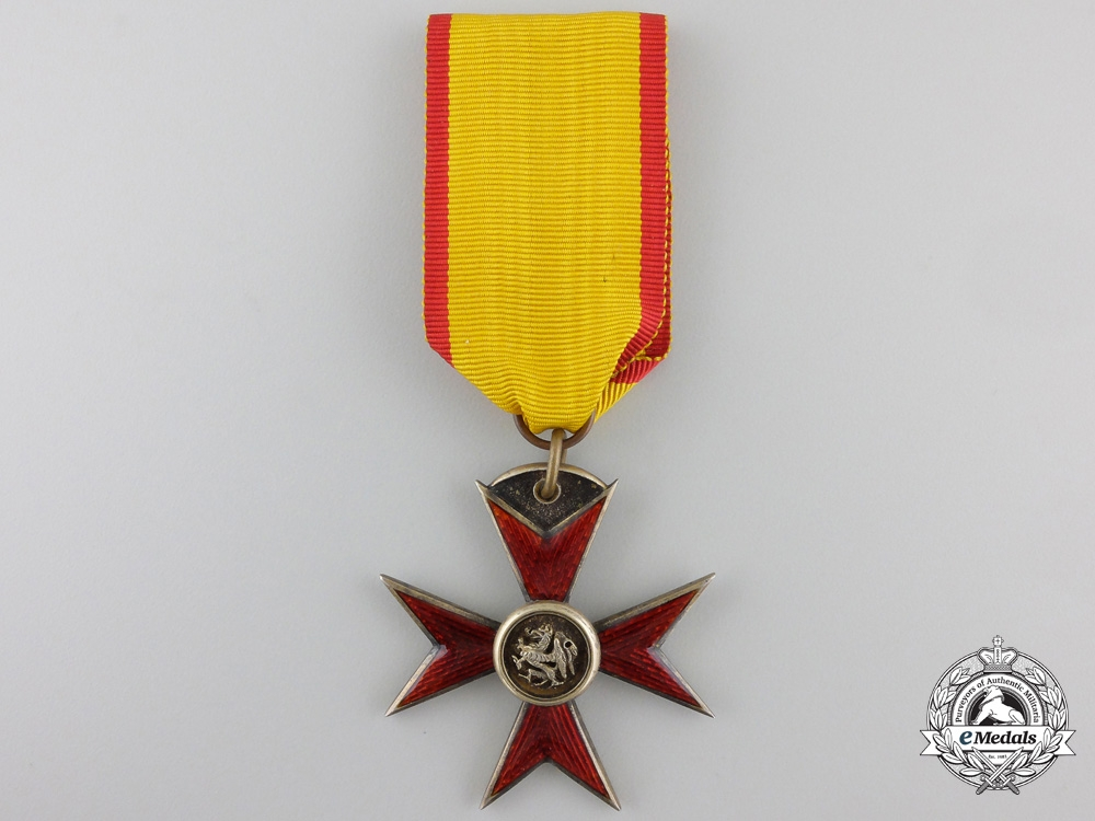 eMedals-A Meckenburg-Schwerin Order of the Griffin; Knight's Cross
