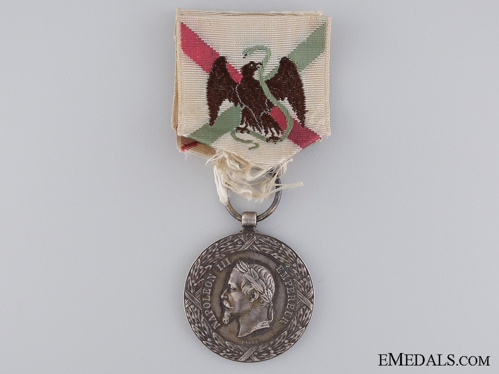 eMedals-1862-1865 Mexico Campaign Medal