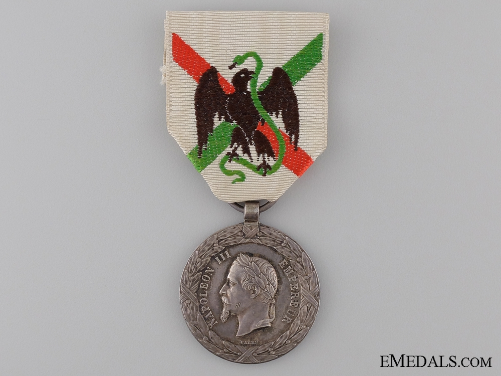 eMedals-1862-63 Mexico Expedition Medal