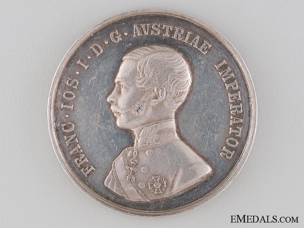eMedals-1870 Austrian Imperial Medal for Care of Horses