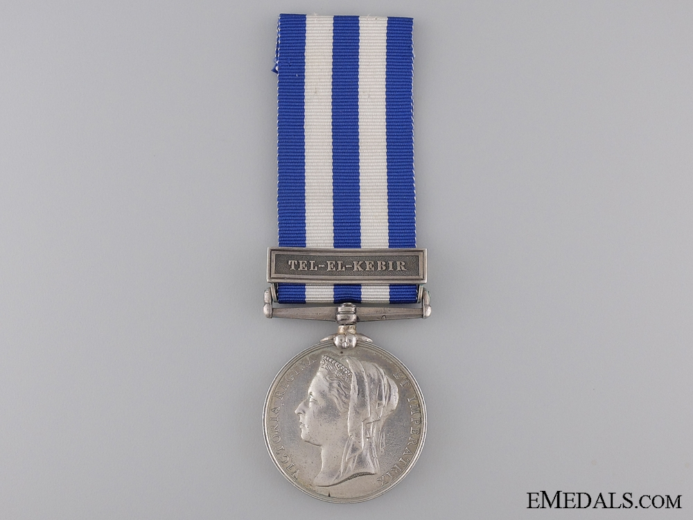 eMedals-1882 Egypt Medal to the Duke of Connaught Light Inf.