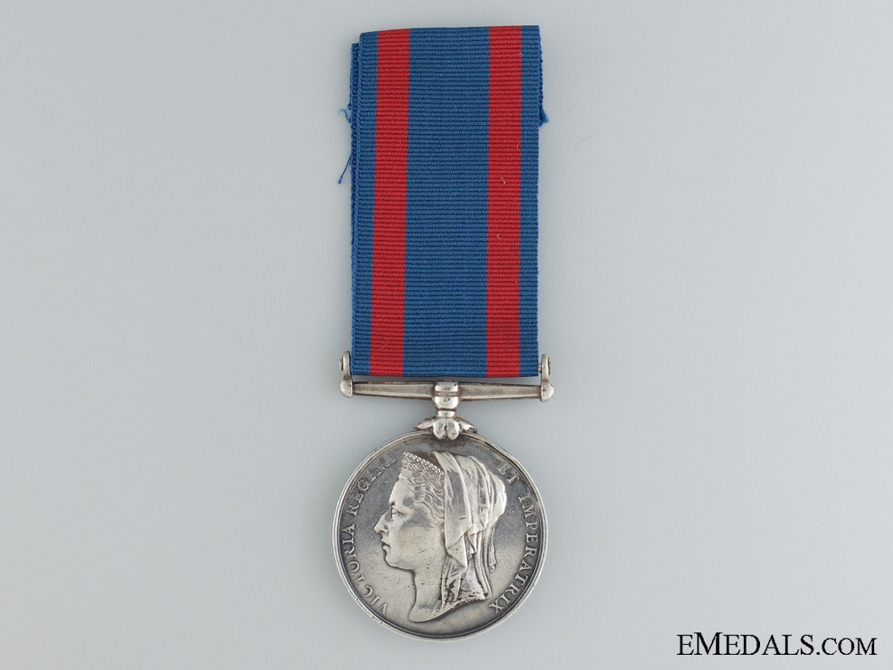eMedals-1885 North West Canada Medal to the Montreal Garrison Artillery