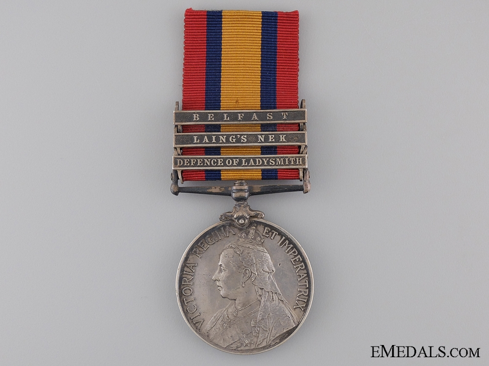 eMedals-A Queen's South Africa Medal to the Liverpool Regiment
