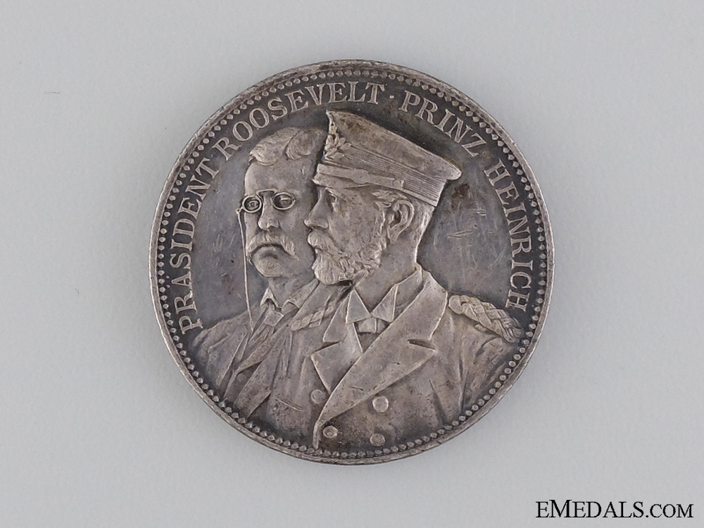 eMedals-1902 Prince Heinrich of Prussia's Visit to America Medal
