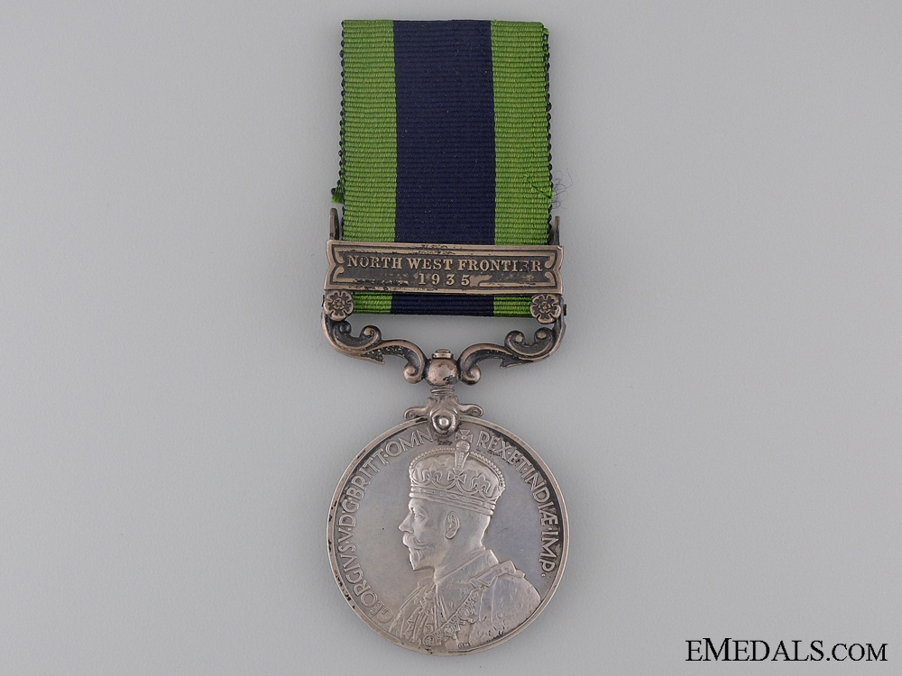 eMedals-1908-35 India General Service Medal to the Hampshire Rifles