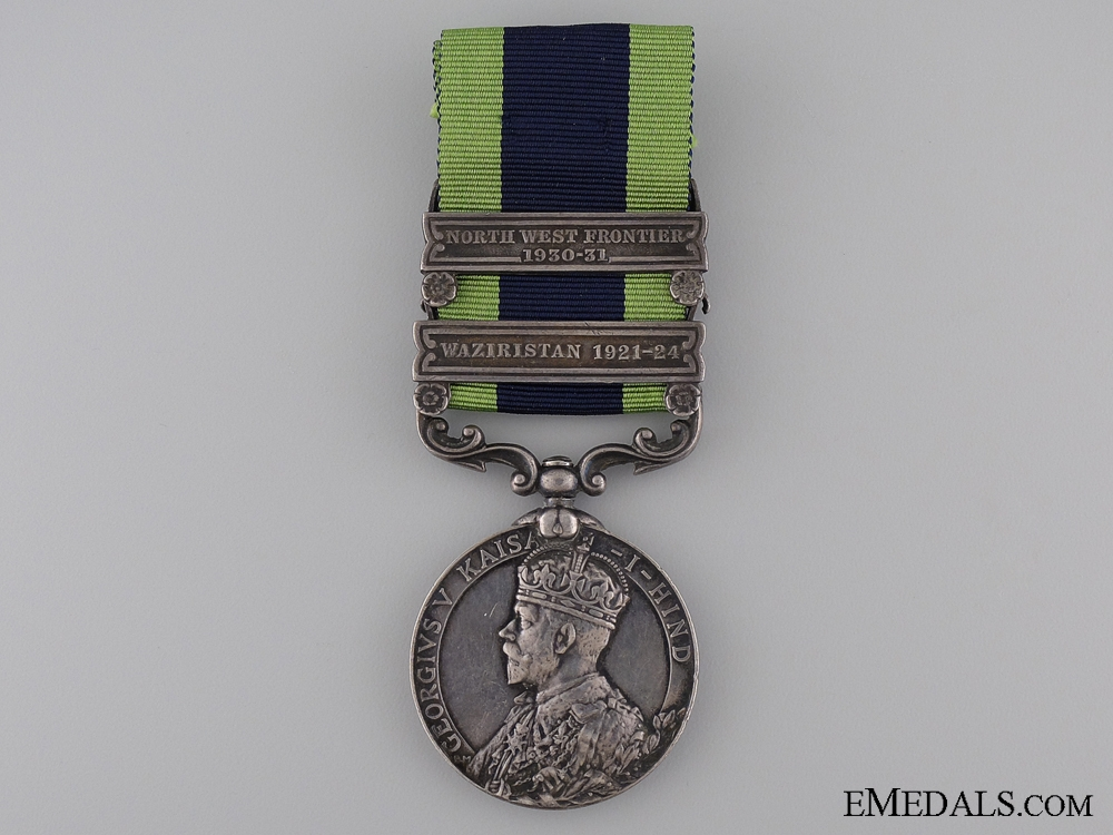eMedals-1909 India General Service Medal to the Sikh Pioneers