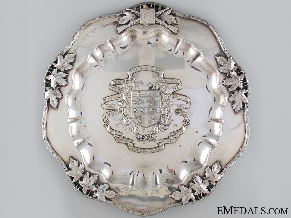 eMedals-1912 Dominion of Canada Shooting Plate