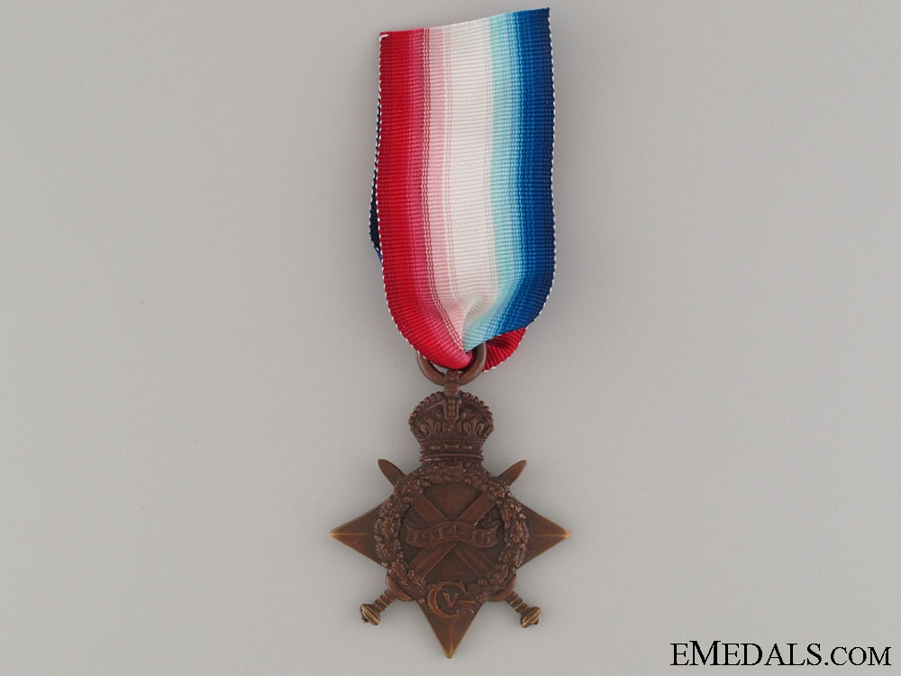 eMedals-1914-15 Star -  Royal Engineers