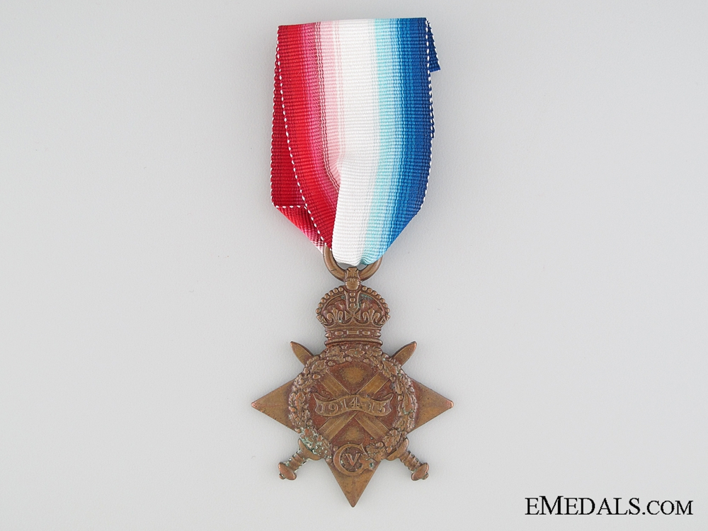 eMedals-1914-15 Star to the The Buffs (East Kent Regiment)