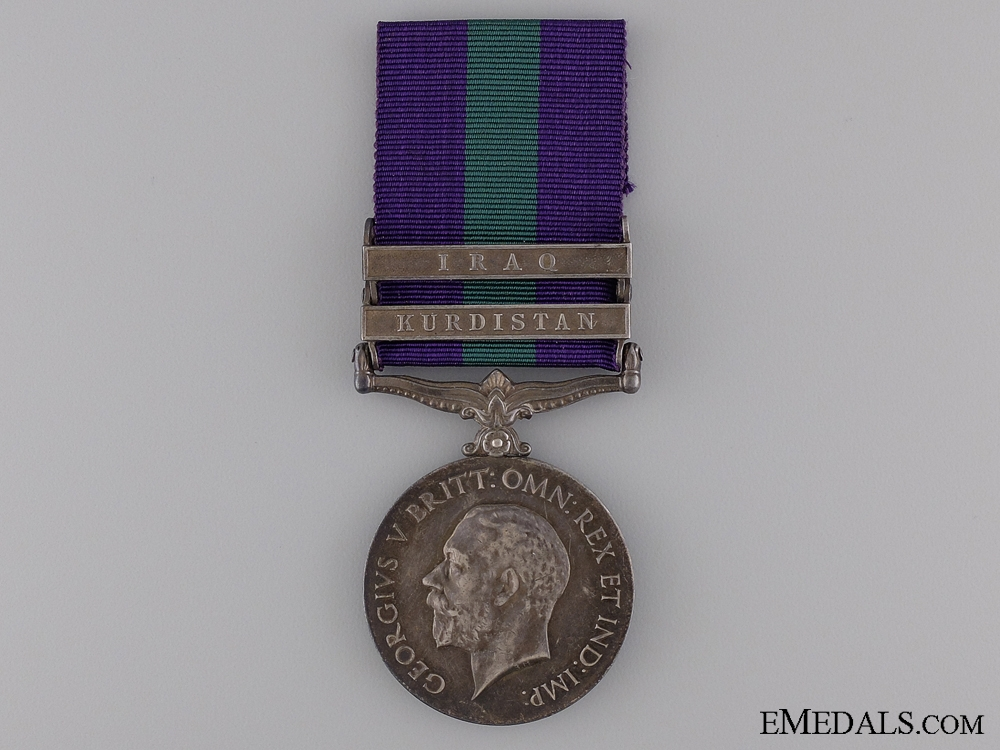 eMedals-1918-62 General Service Medal to the 87th Punjabis
