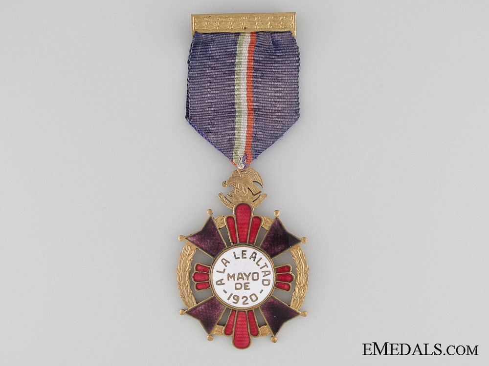 eMedals-1920 Mexican Cross for Loyalty
