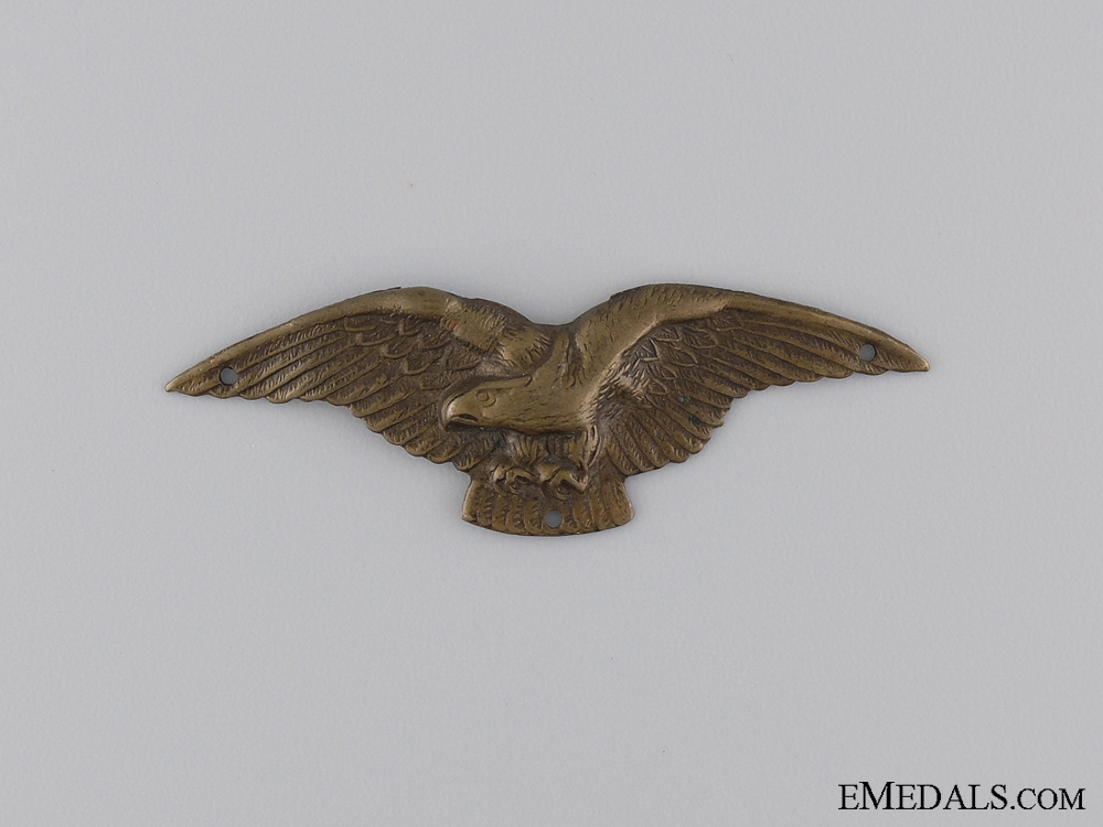 eMedals-1930 Hungarian Pilot Wing; Unmarked