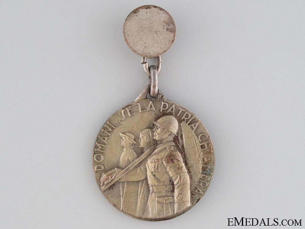 eMedals-1934 Fascist Health Fighters Medal