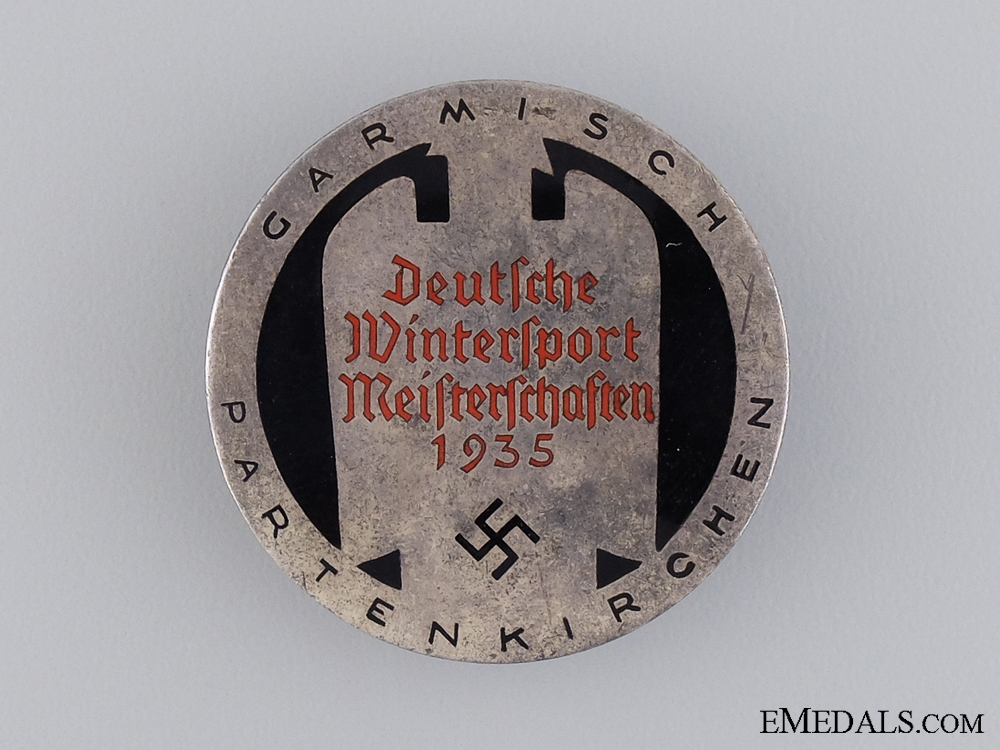 eMedals-German Winter Sports Championships Badge