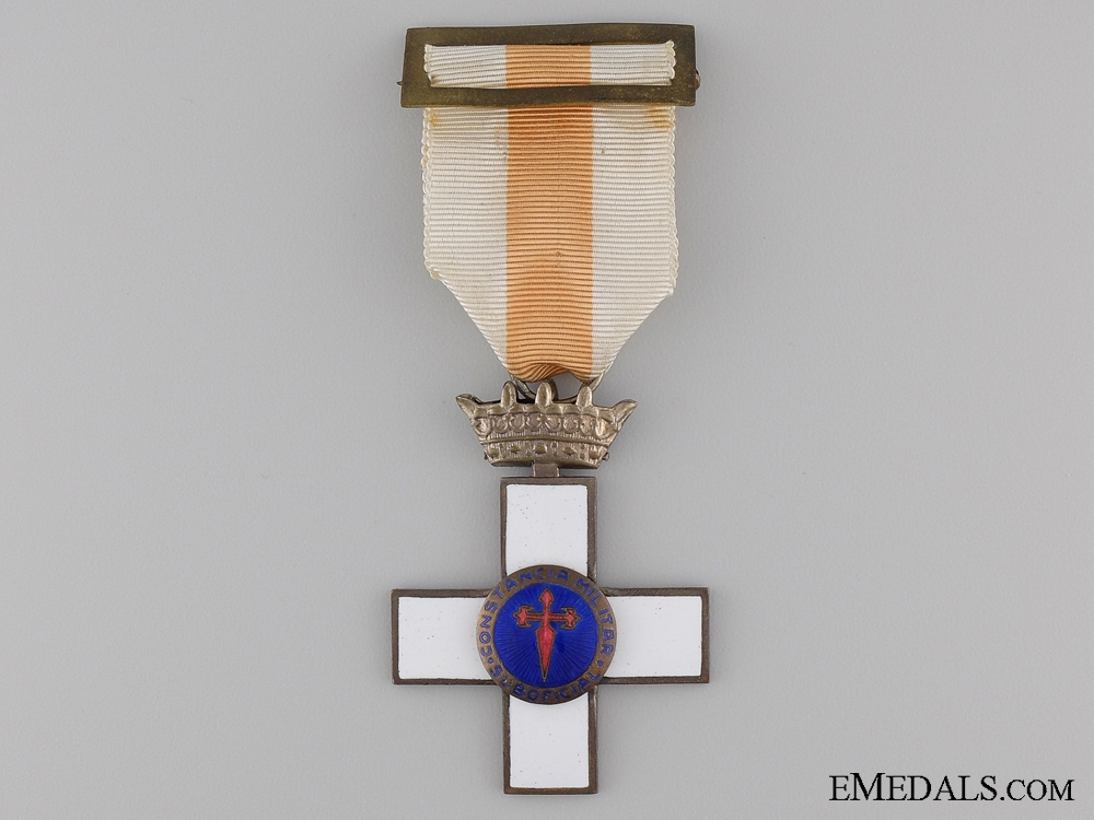 eMedals-1936-1975 Spanish Cross for Military Constancy; Franco Era