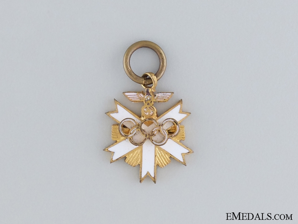eMedals-1936 Miniature Olympic Games Decoration