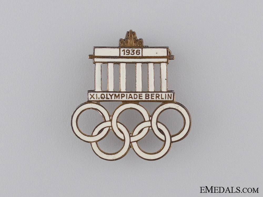 eMedals-1936 XI Summer Olympic Games Berlin Pin