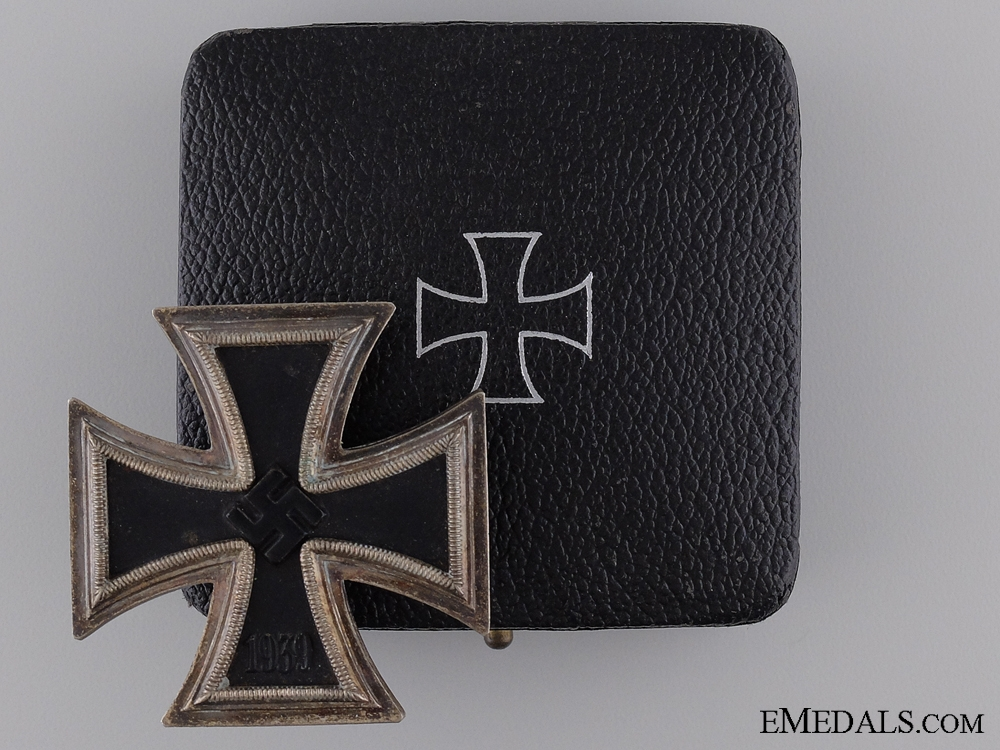 eMedals-1939 First Class Iron Cross with Case of Issue