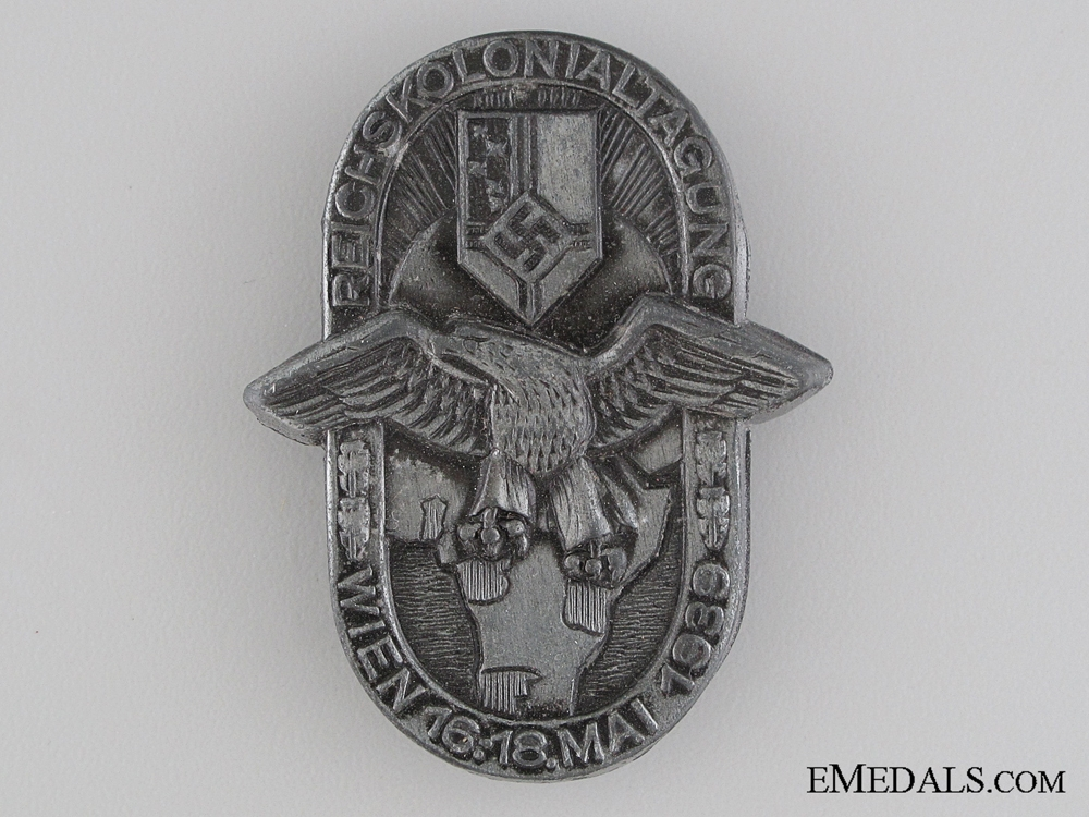 eMedals-1939 German Colonial Force Conference Tinnie