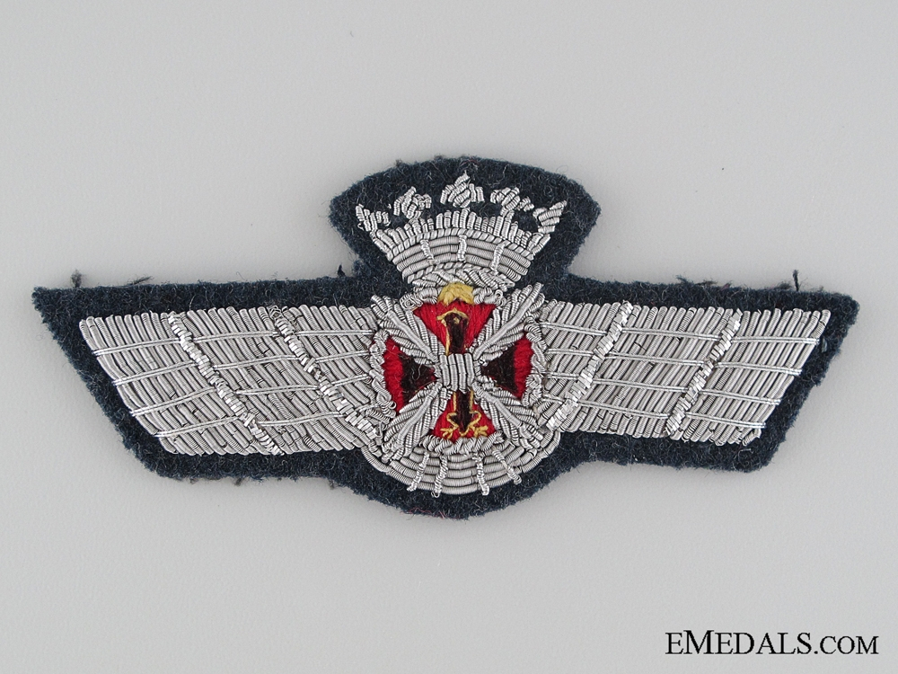 eMedals-1940's Spainish Air Force Pilot/Observer Badge