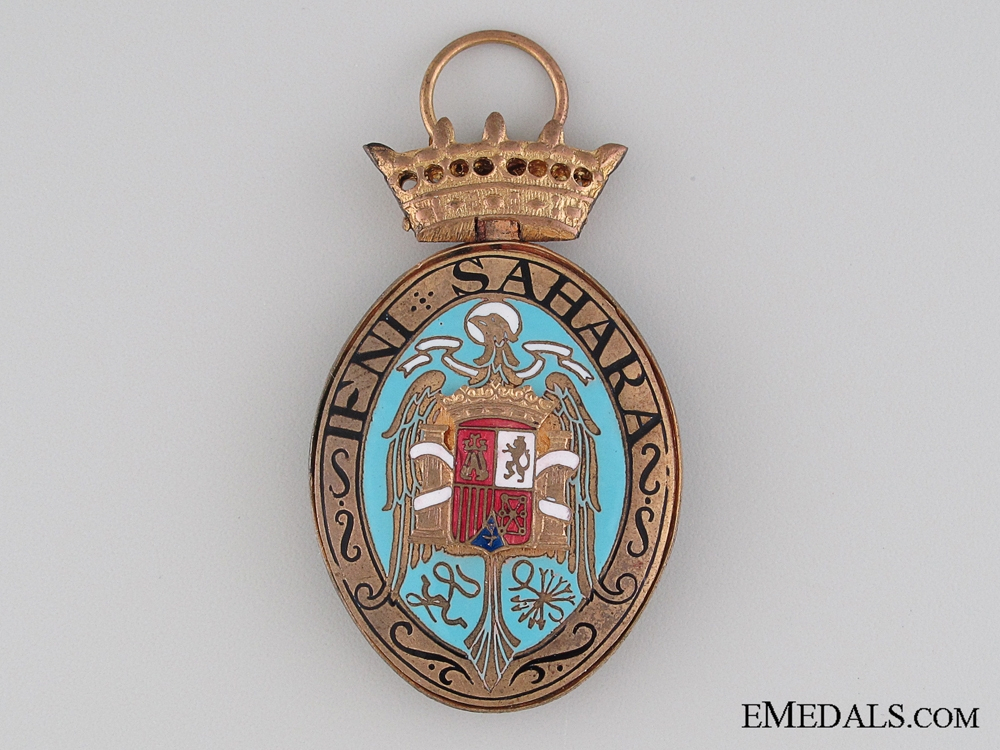 eMedals-1958 Campaign Medal for the Ifni and the Sahara