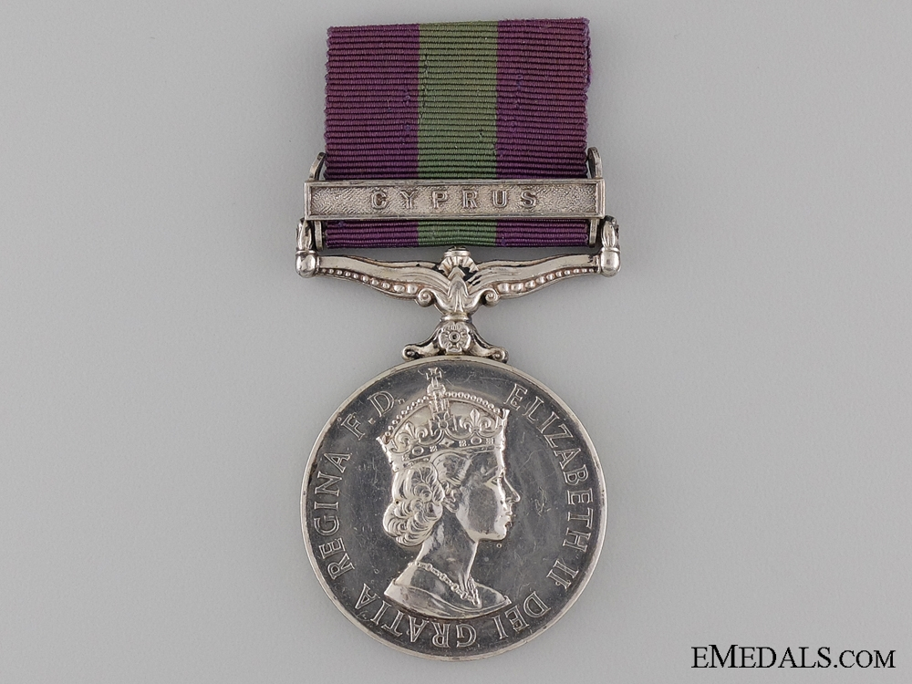 eMedals-1962 General Service Medal to the Royal Signal Corps