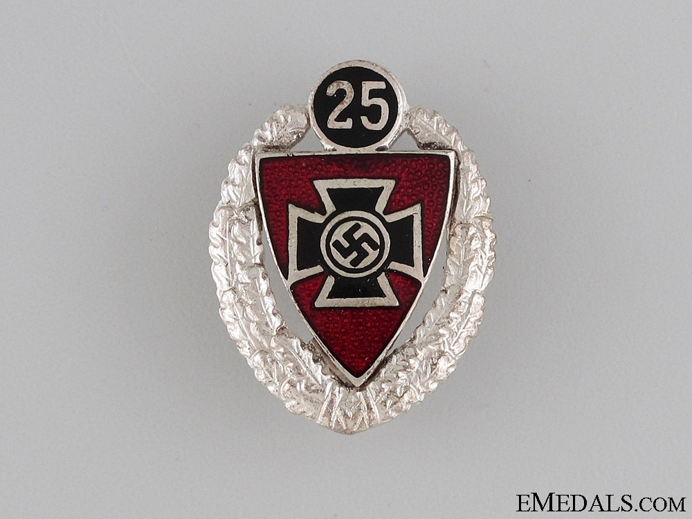 eMedals-25 Year Veteran Membership Badge