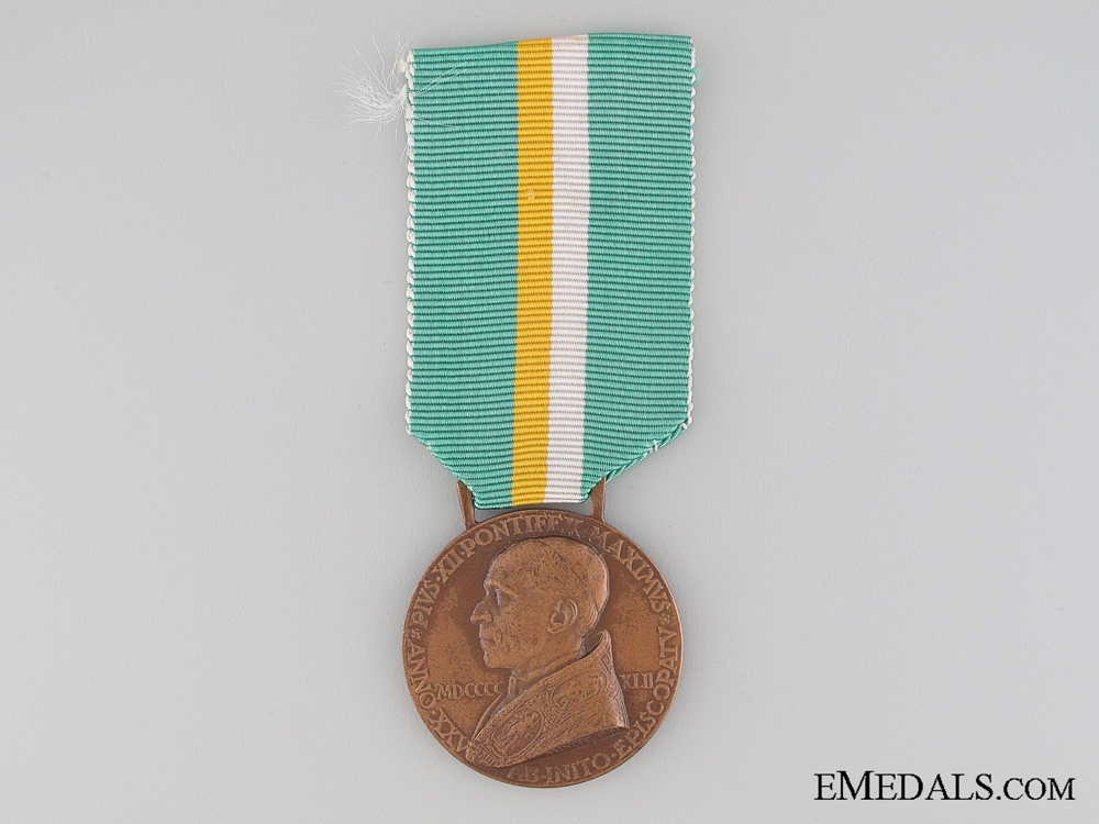 eMedals-25th Anniversary of Pius XII Medal