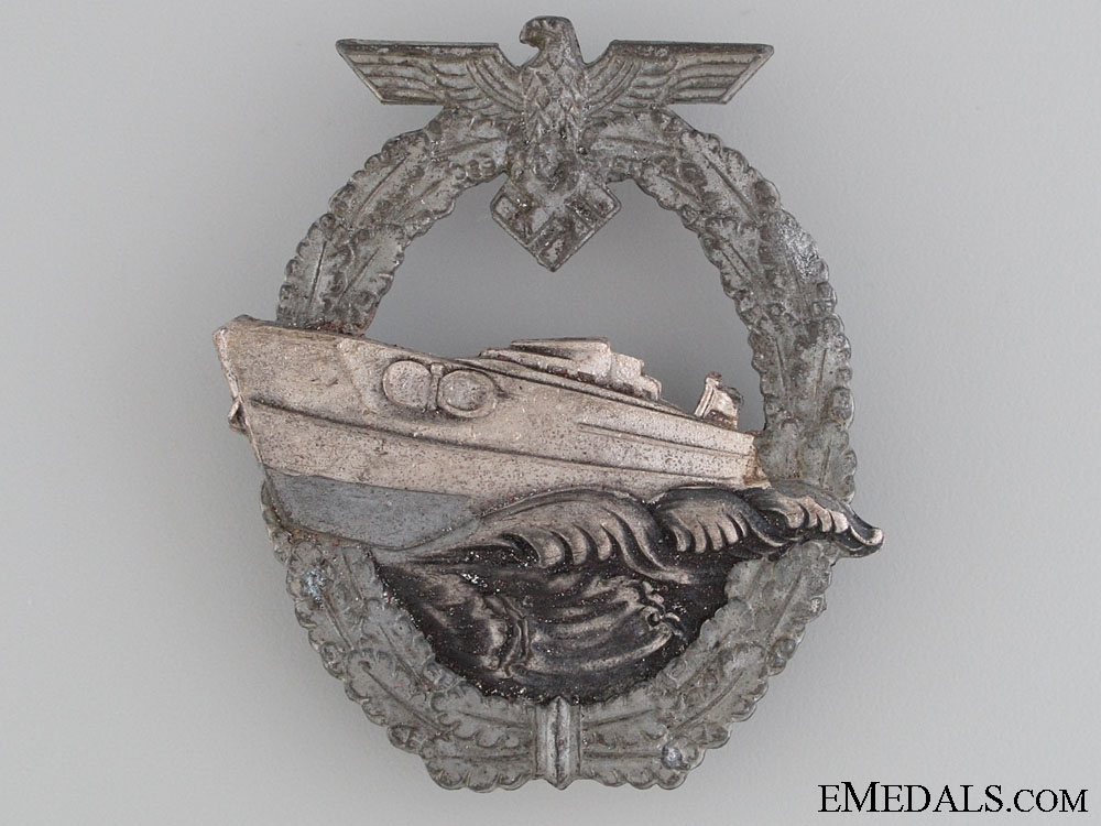 eMedals-2nd Pattern E-Boat Badge by Schwerin