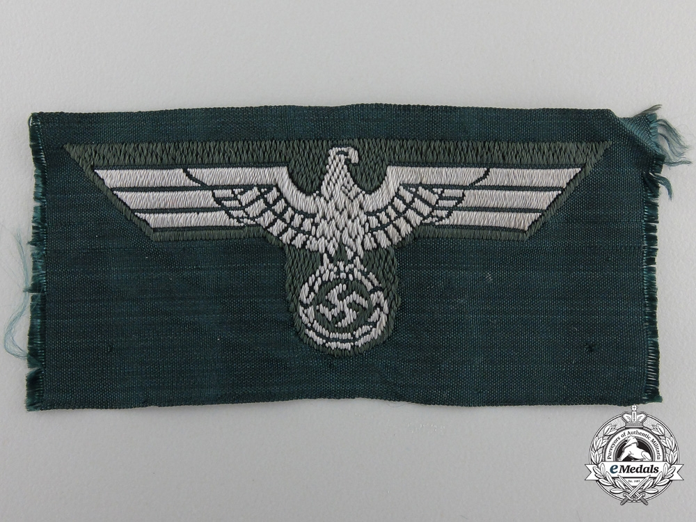 eMedals-A Wehrmacht NCO's Overseas M43 Army Cap Eagle