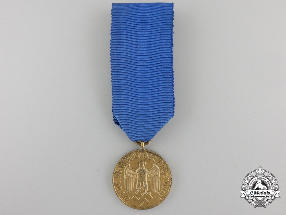 eMedals-A Wehrmacht Long Service Medal; Twelve Years Service