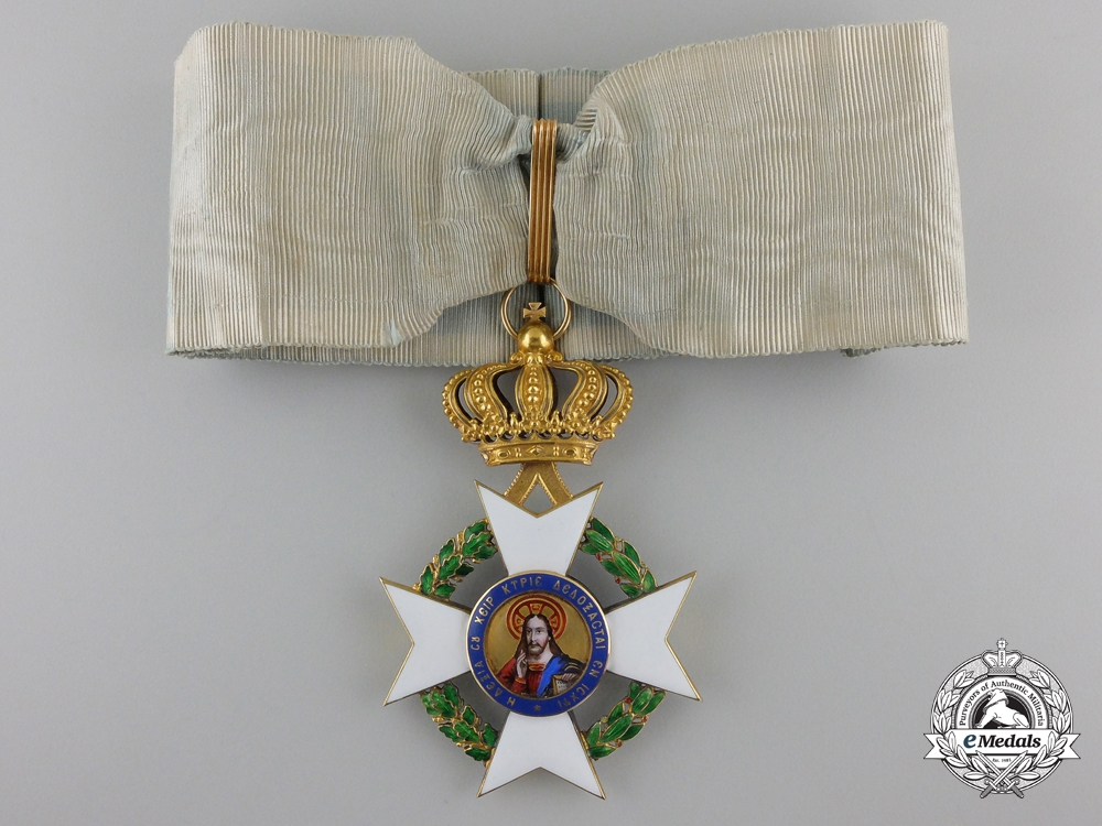 eMedals-A Greek Order of the Redeemer in Gold, Commander