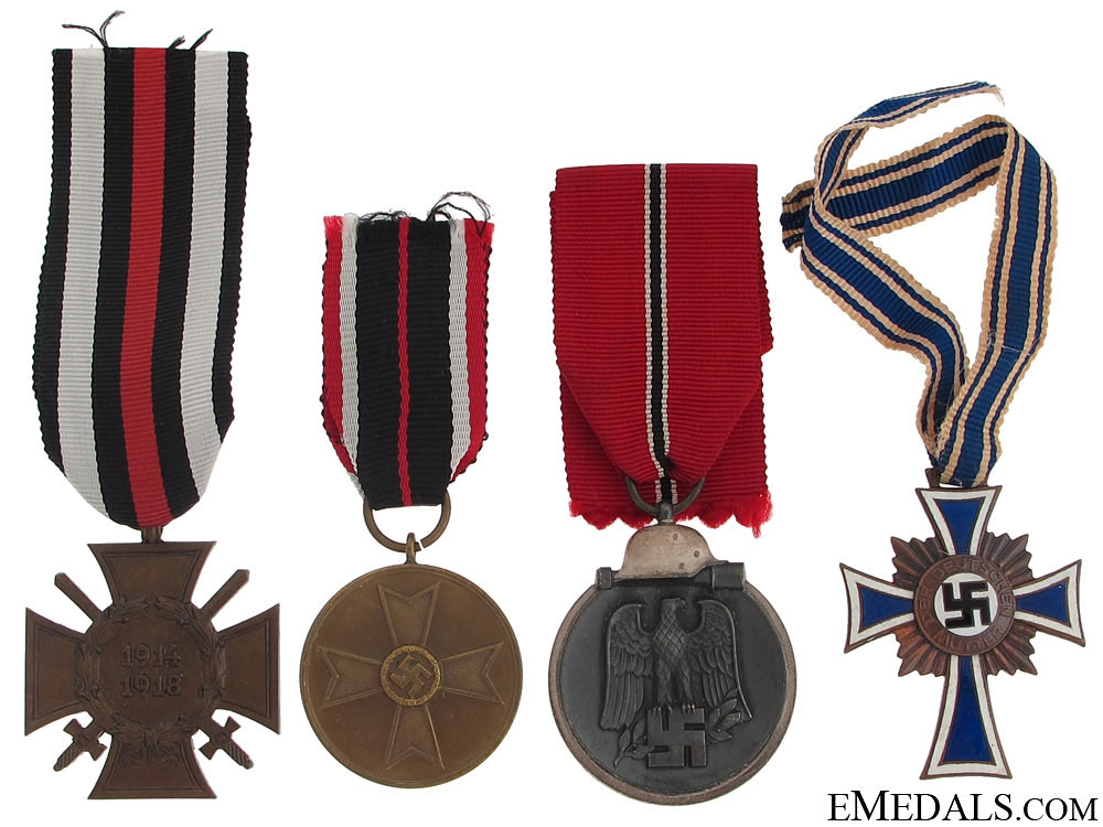 eMedals-Four Third Reich Period Awards