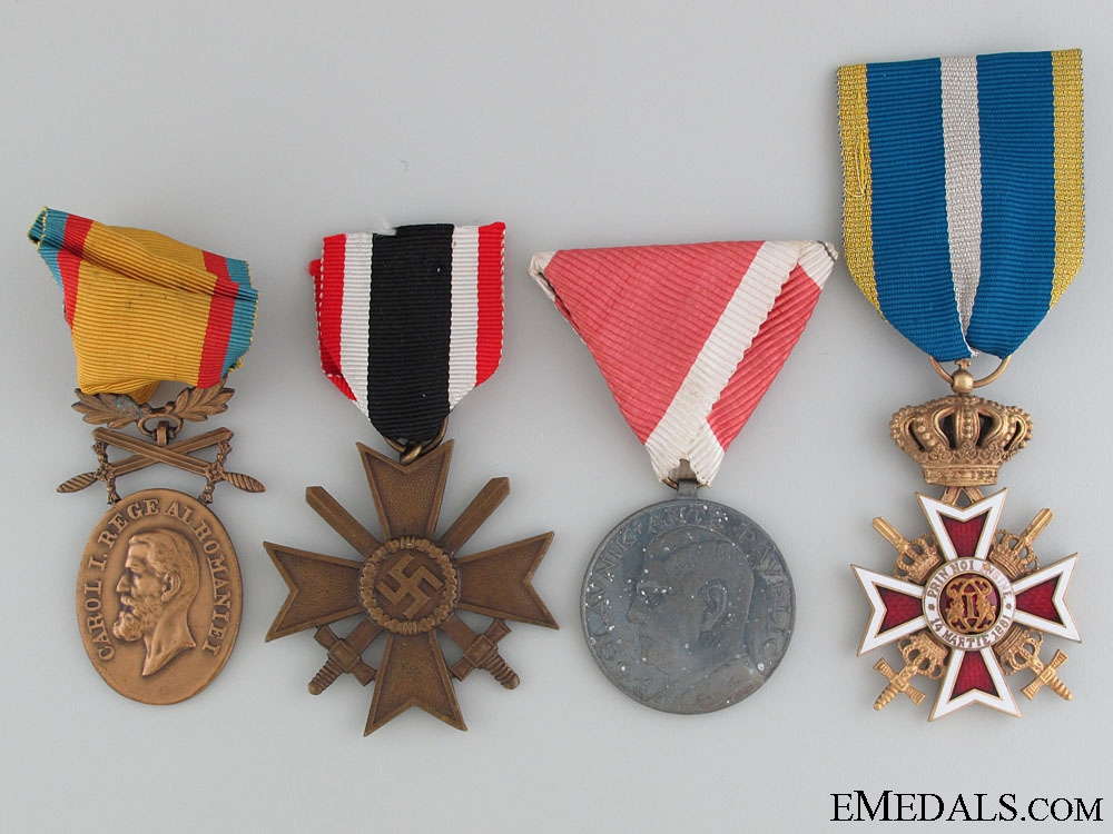 eMedals-Four WWII Period Awards