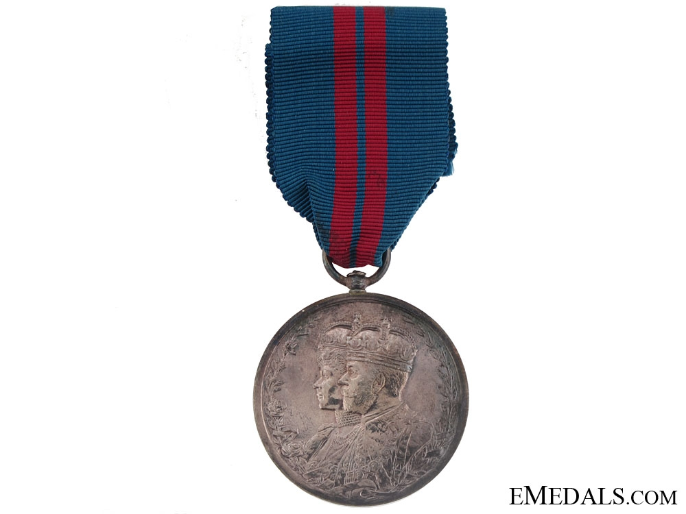 eMedals-King George V and Queen Mary Coronation, Delhi Durbar Medal 1911
