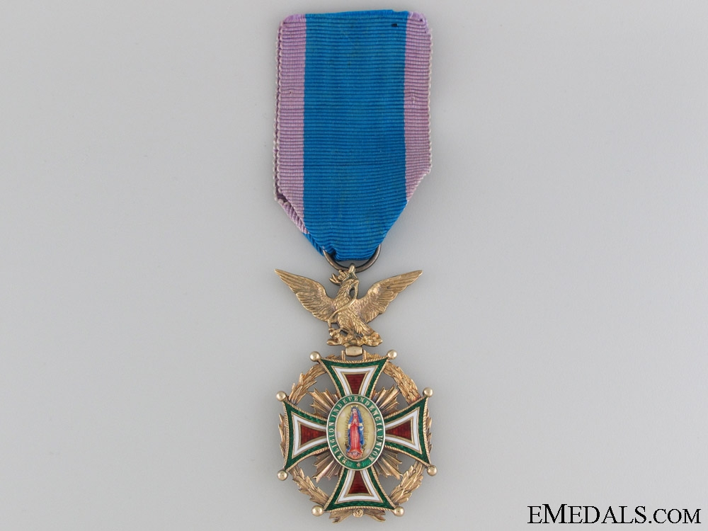 eMedals-Order of Our Lady of Guadaloupe