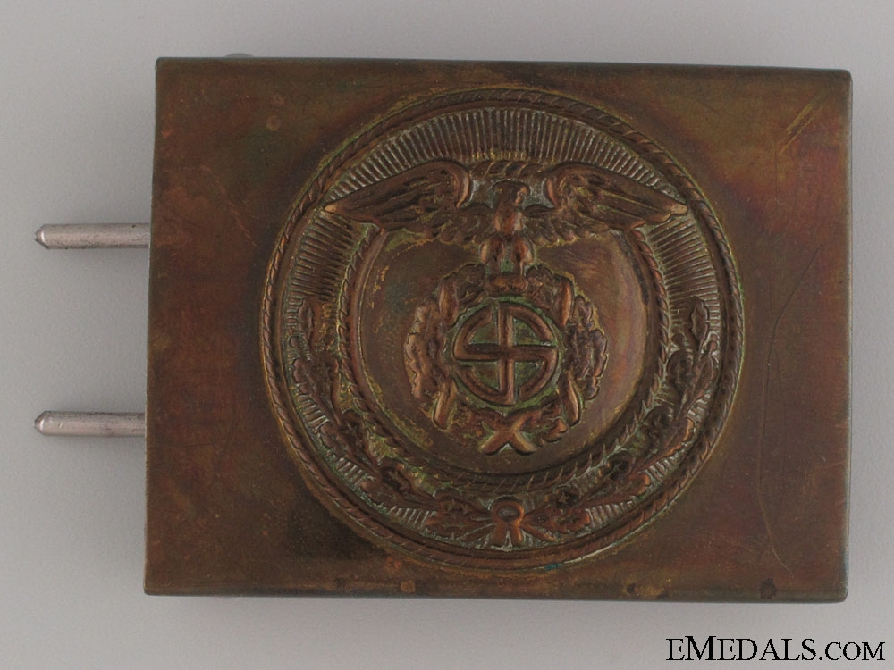 """eMedals-SA Enlisted Man""""¢¯s Belt Buckle"""