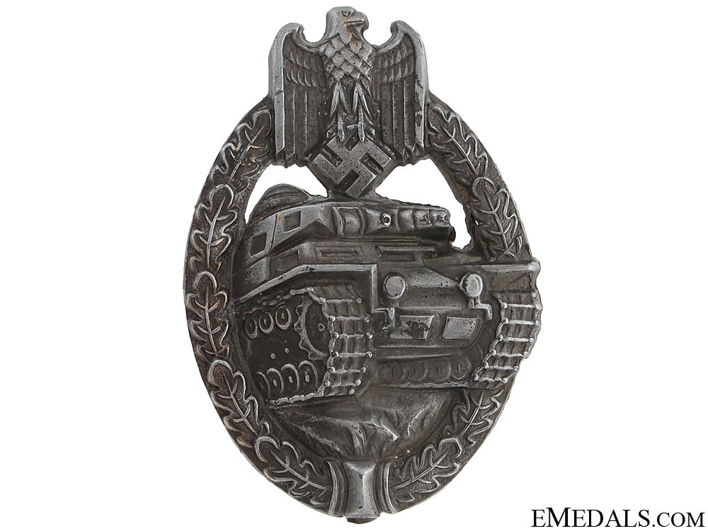 eMedals-Tank Badge – Silver
