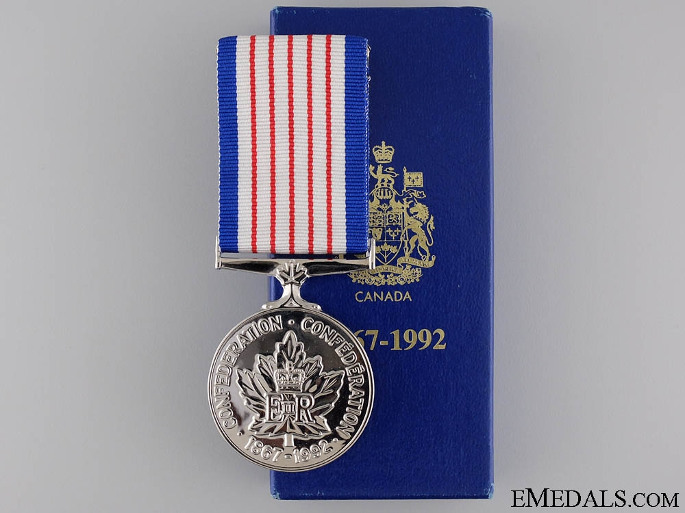 eMedals-A 125 Year Canadian Confederation Medal