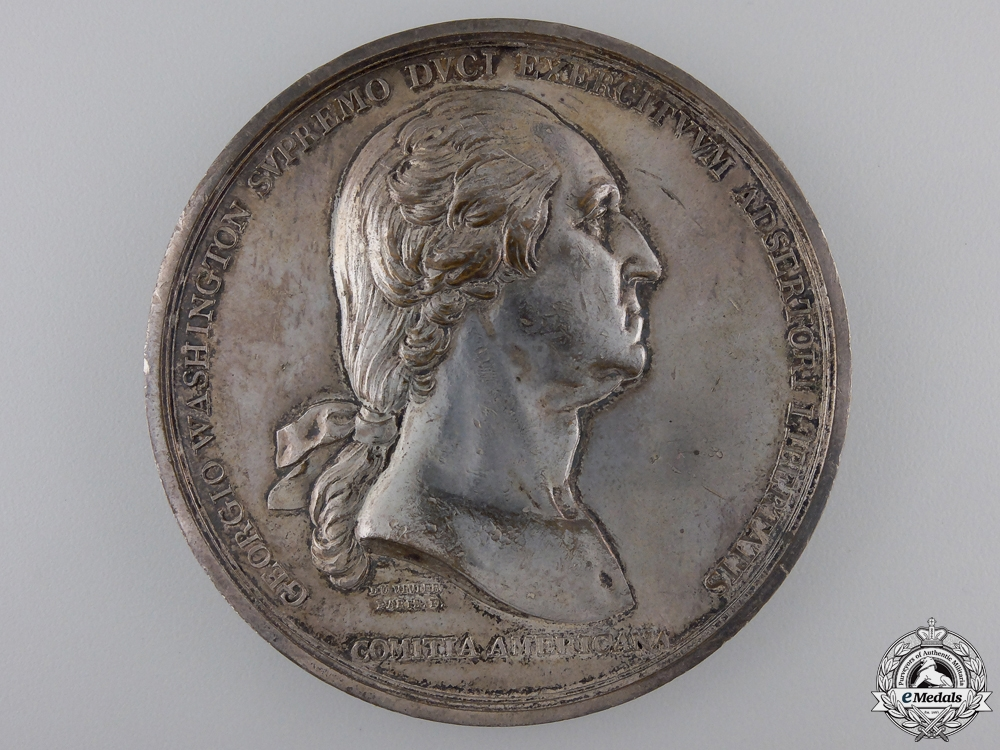 eMedals-A 1776 Washington Before Boston Commemorative Table Medal