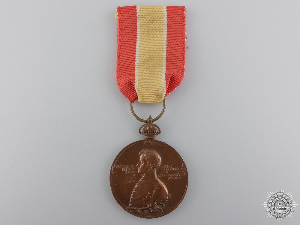 eMedals-A 1809-1909 Spanish Sampayo Bridge Centenary Medal