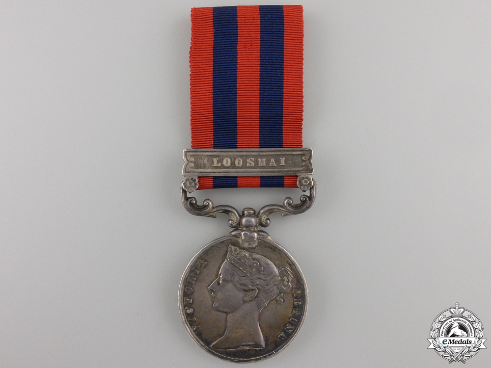 eMedals-A 1854-95 India General Service Medal to the 2nd Gurkha Regiment  Con #41