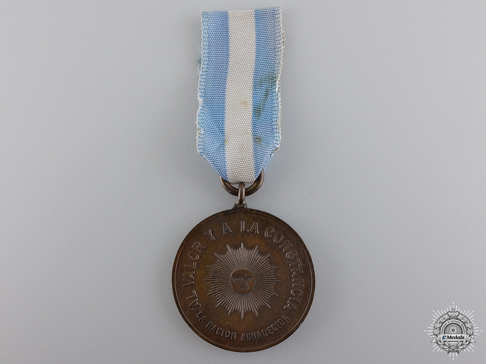 eMedals-An 1865 Medal for Allies in the Paraguayan War