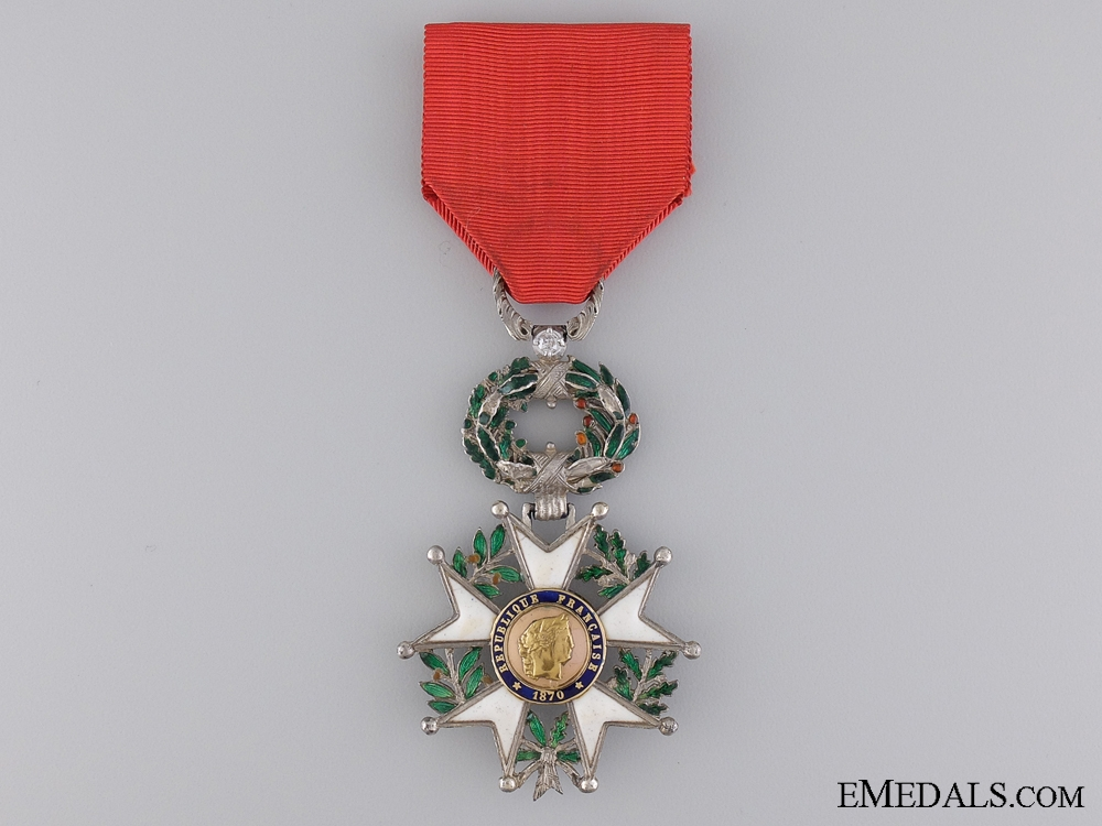 eMedals-A 1870-1951 French Legion D'Honneur with Diamonds