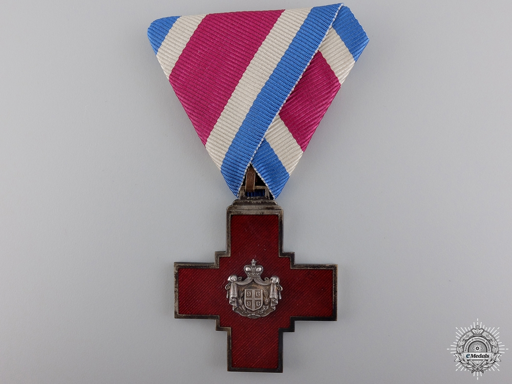 eMedals-A 1876 Serbian Red Cross Decoration