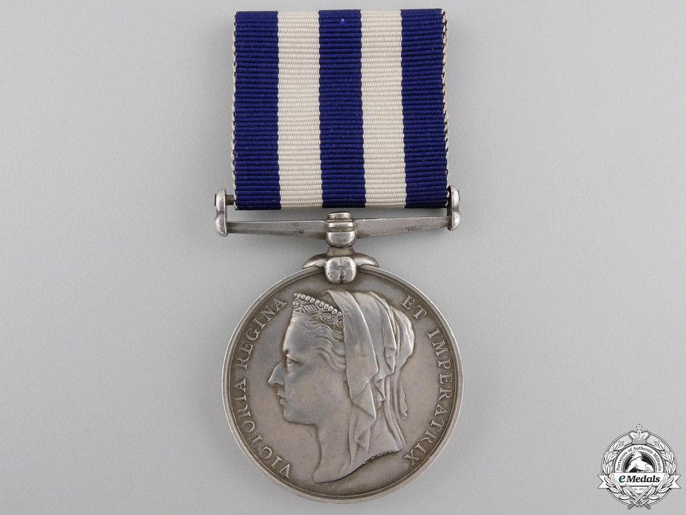 eMedals-A 1882-89 Egypt Medal to Officer's Servant