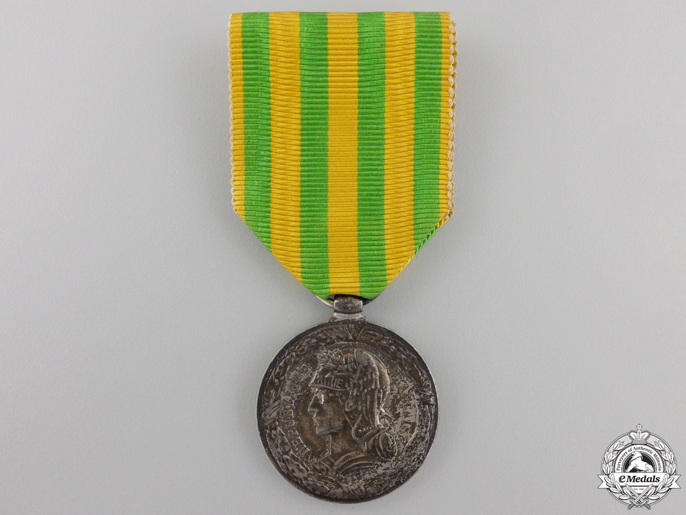 eMedals-A 1883-1885 French Tonkin Campaign Medal; Navy Version