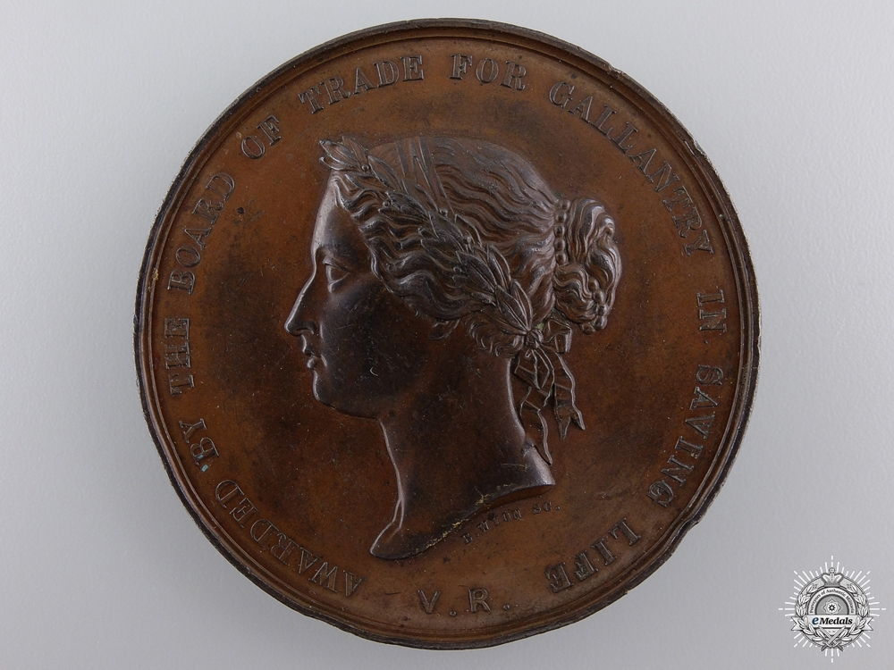 eMedals-A 1886 Sea Gallantry Medal for Rescue  of the Schooner Betsey